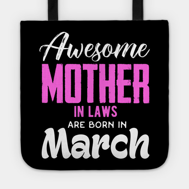 Mother In Law Shirt Tote