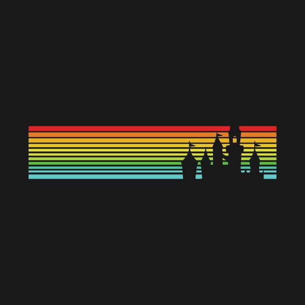 Retro Castle Stripes