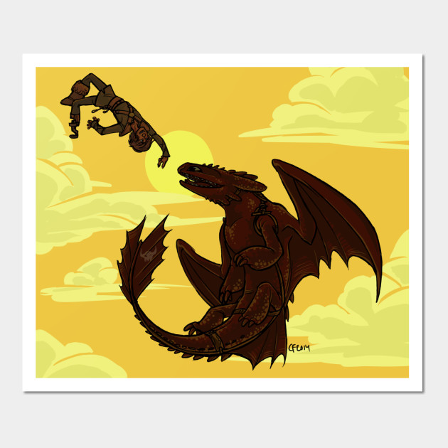 Fancy How To Train Your Dragon Wall Art Image - Wall Art Design ...