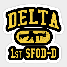 Delta Force Stickers | TeePublic