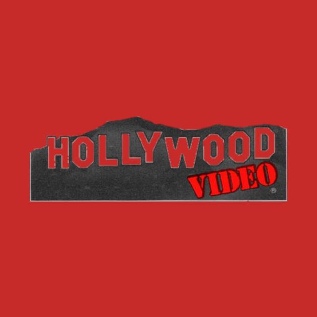 hollywood video logo - video store - phone case | teepublic