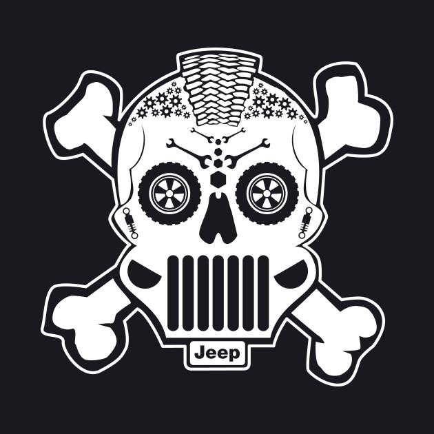 New Sugar Skull Jeep Design!