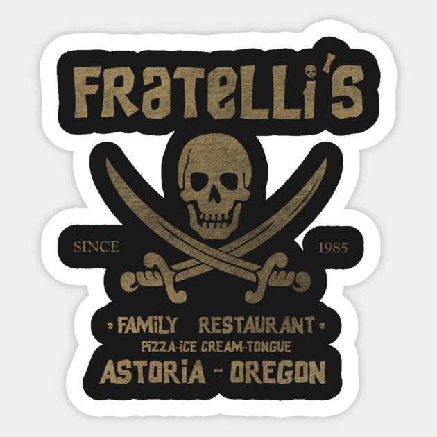 Fratellis Sticker