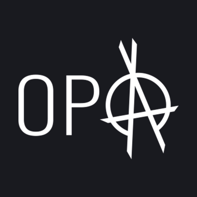 The Expanse - OPA Logo - White Clean