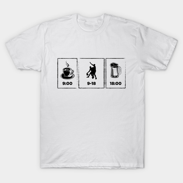 Funny Basketball Design | Bbal Balling T-Shirts Gift Idea by litclothes