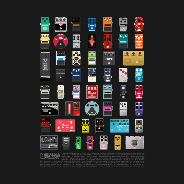 The 52 Pedal Project