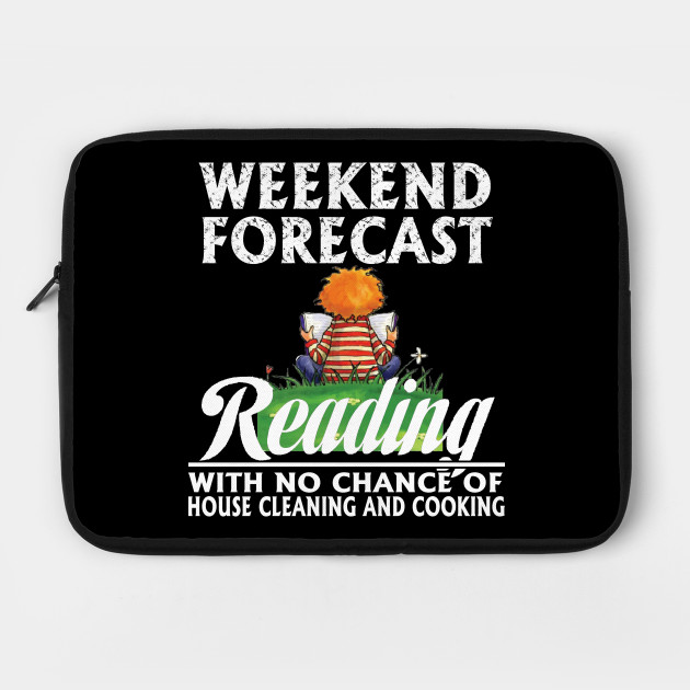 Weekend forecast - Gift for book lovers