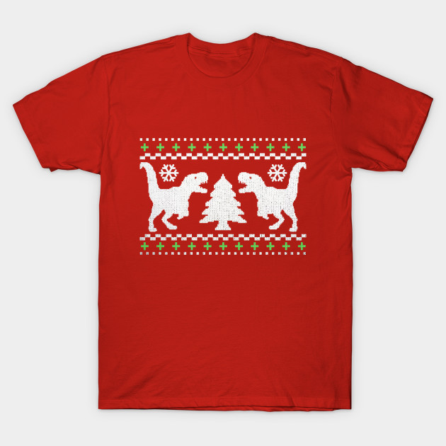 Funny Ugly T-REX Christmas Sweater - Christmas - T-Shirt | TeePublic