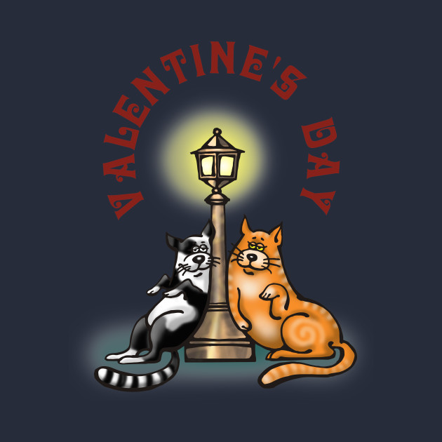 Valentine's Day Gift - Funny Sweet Cats
