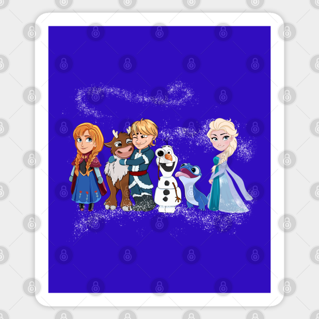Frozen favorite characters, lizard Elsa Bruni fire spirit ...