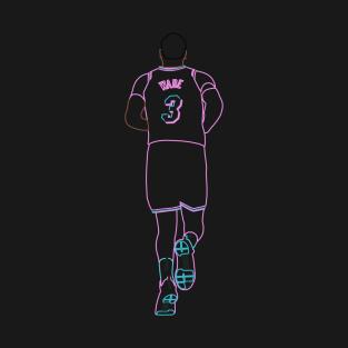 050b77273 Dwyane Wade Miami Vice Neon T-Shirt