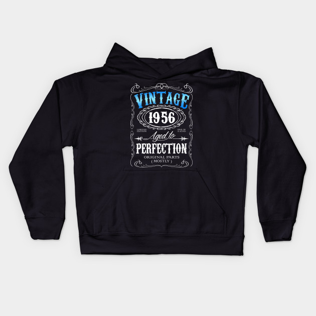 a588e89d Vintage 1956 aged to perfection 60th birthday gift for men 1956 60 birthday  Kids Hoodie
