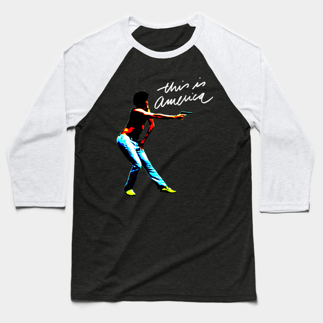 THIS IS AMERICA Baseball T-Shirt