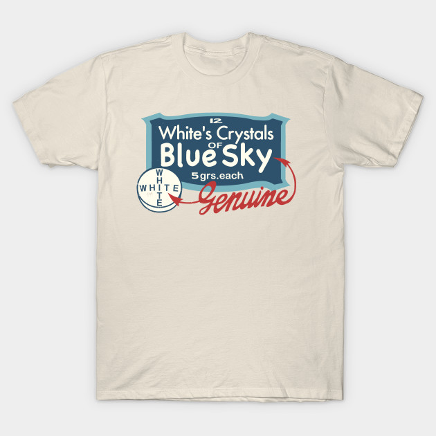 Vintage box of Blue Meth by Mr. White - Breaking Bad - T-Shirt ... 4d0fe95d3e8