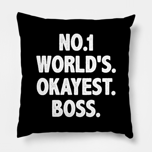 Mens womens boss shirt funny for dads hilarious matching