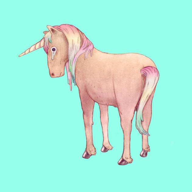 Sad unicorn