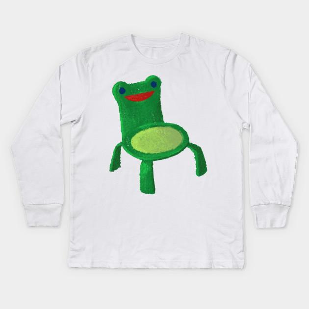 Froggy Chair Froggy Chair Kinder Long Sleeve T Shirt