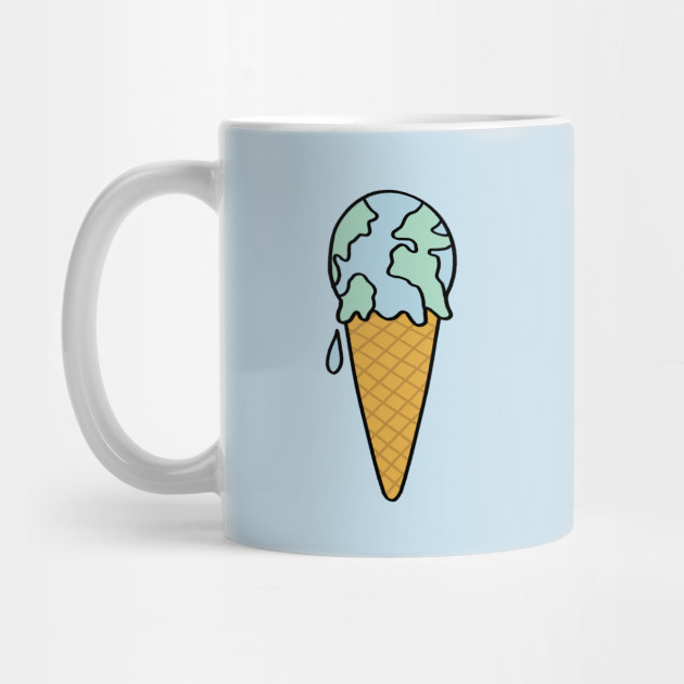 Ice cream earth Mug