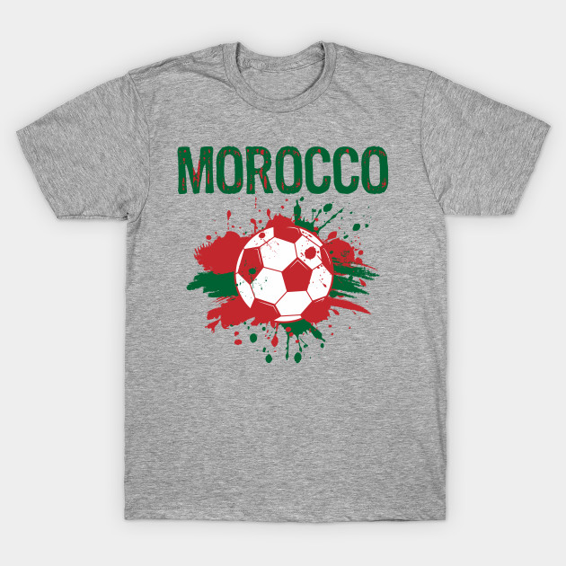 616aff0c9fd Morocco Soccer Shirt Fan Football Gift Funny Cool 2018 - Morocco ...