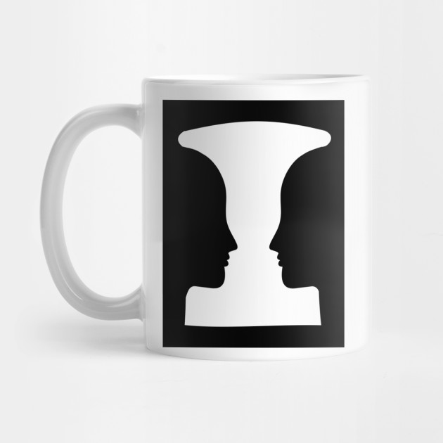 Limited Edition Exclusive Rubins Vase Rubins Vase Mug Teepublic