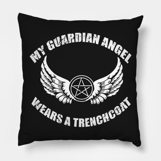 Angels wear treanchcoat