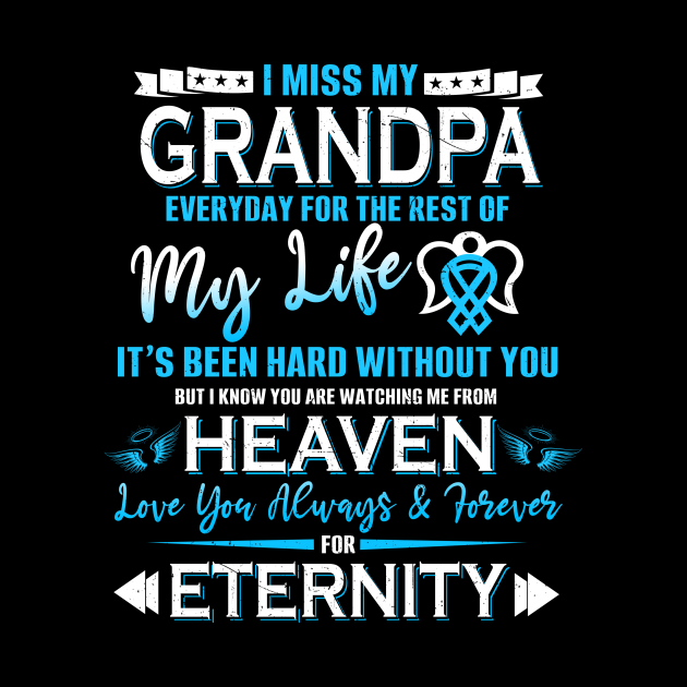 I Miss My Grandpa Everyday For The Rest Of My Life