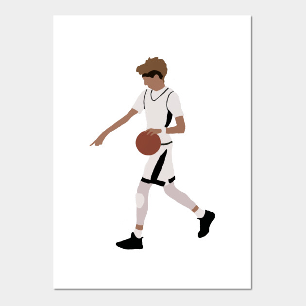 Lamelo Ball From Half Court