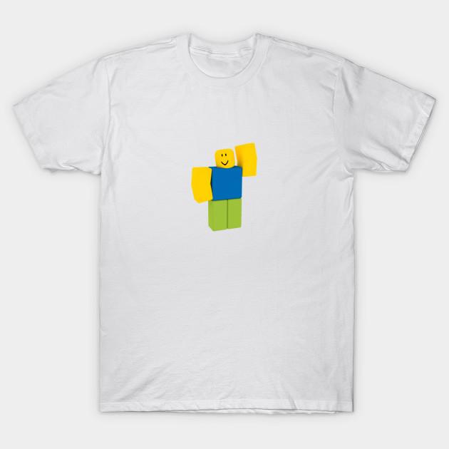 Roblox Noob Roblox T Shirt Teepublic