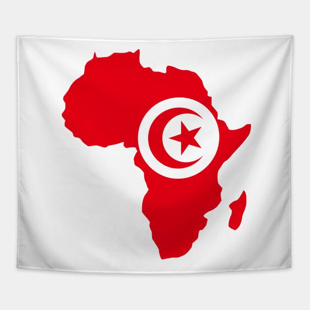 Tunisian pride Tunisia flag Africa map - I Love Tunisia Flag Africa ...