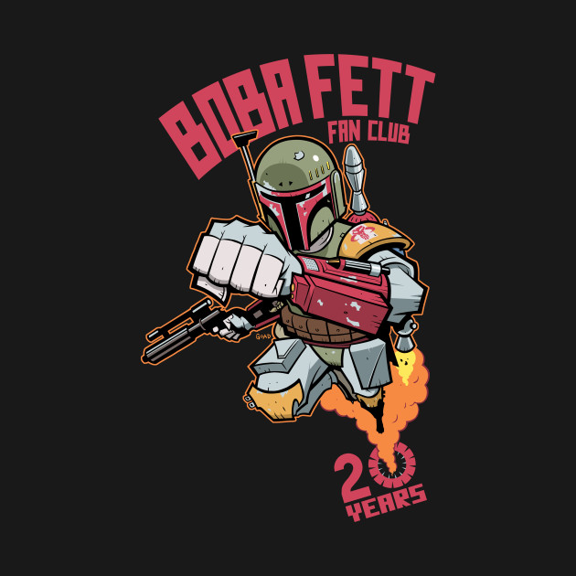 """Boba Fett Fan Club 20 Years (""""Jedi"""")"""