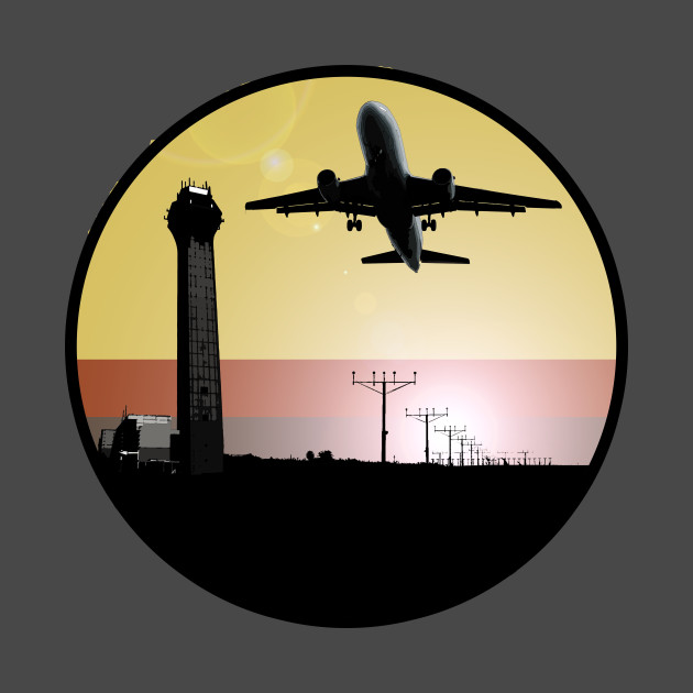 ATC: Air Traffic Control Tower & Plane