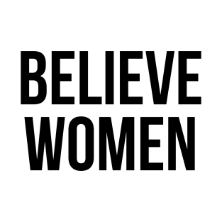 Believe Women t-shirts