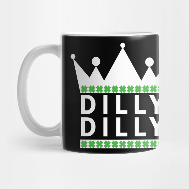 St. Patrick's Day Dilly Dilly Beer Medieval T-Shirt Mug