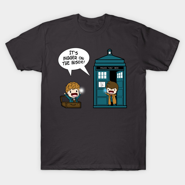 It's bigger on the inside - Doctor Who - T-Shirt | TeePublic