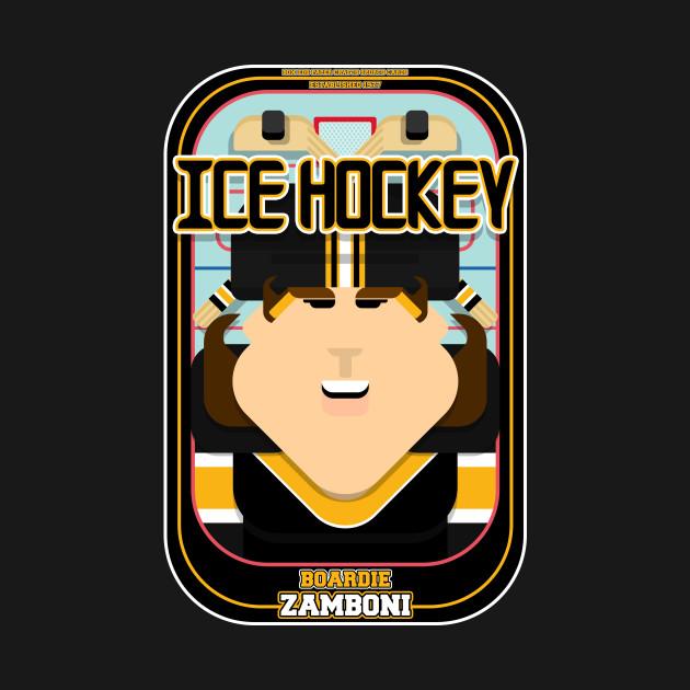 Ice Hockey Black and Yellow - Boardie Zamboni - June version