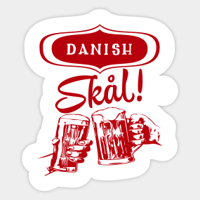 Danish Stickers | TeePublic