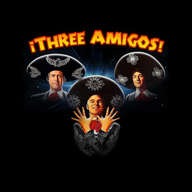 Three Amigos Queen
