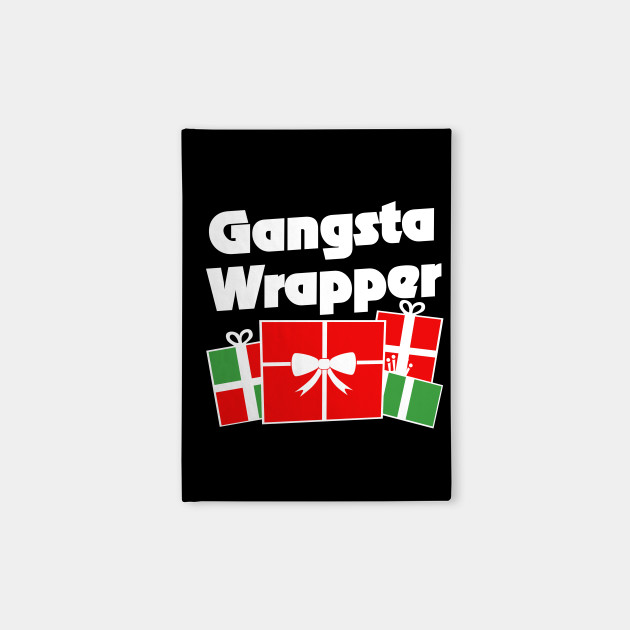 Gangsta Wrapper Christmas humor