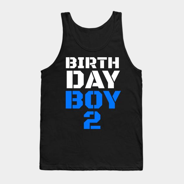 Birthday Boy 2 2nd Tee Boys