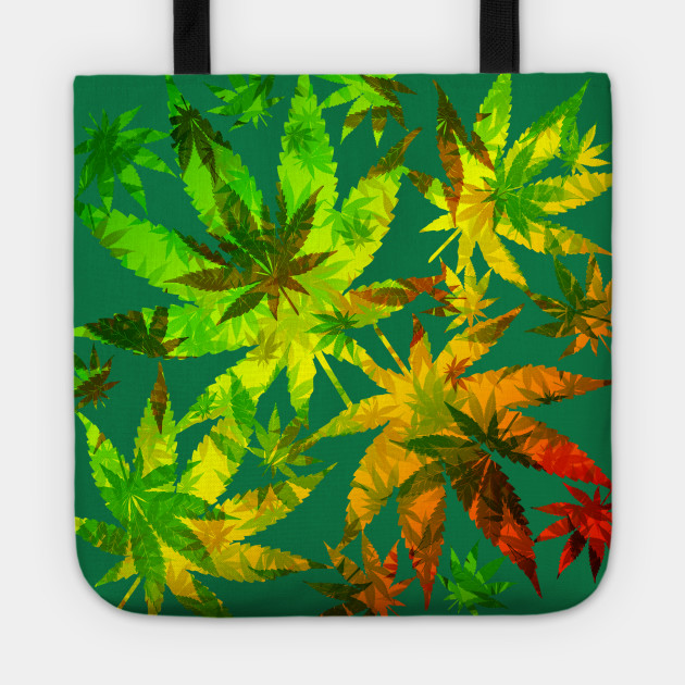 Marijuana Cannabis Leaves Pattern