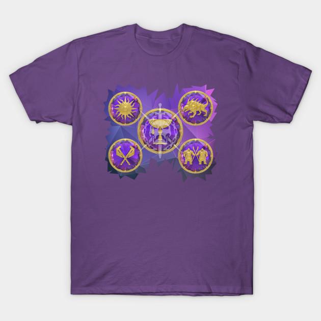 05e077c2e67 Destiny 2 Leviathan Symbols T-Shirt