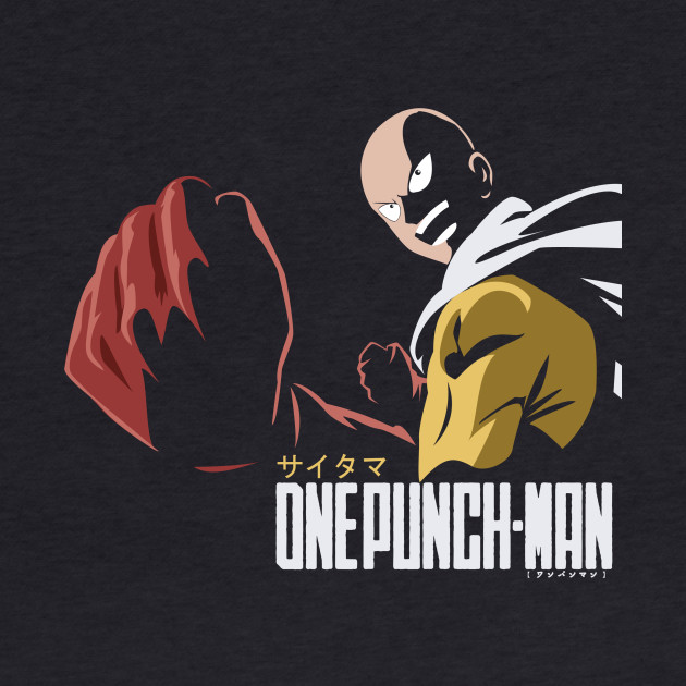 One Punch Man (Saitama in Action), Anime T-Shirt