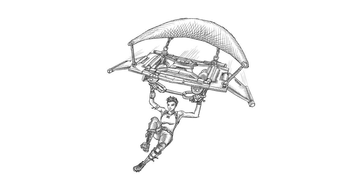 Fortnite S Parachutist Battle Royale Fortnite