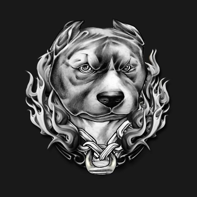 Big Dog Biker T Shirt Teepublic