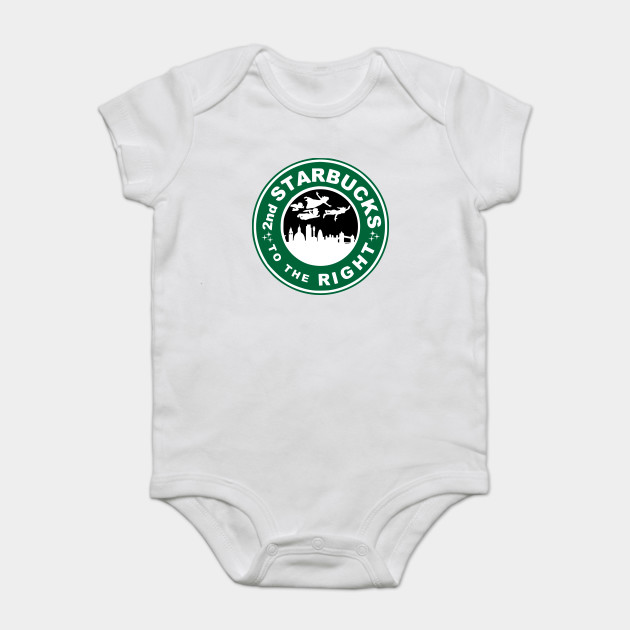 6b13f17d2 The 2nd Starbucks To The Right - Peter Pan - Onesie   TeePublic
