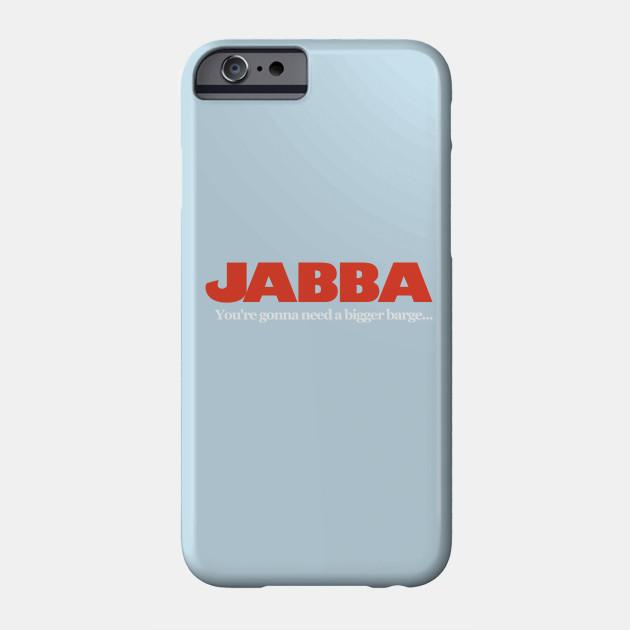 37456d5d Jabba / Jaws Mash Up - Funny Star Wars - Phone Case   TeePublic