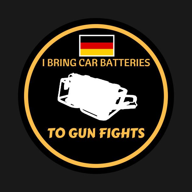 Car Batteries & Gun Fights