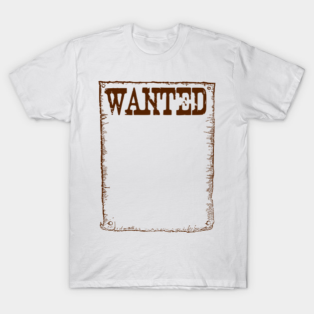 LIMITED EDITION. Exclusive Wanted Frame - Wanted Frame - T-Shirt ...