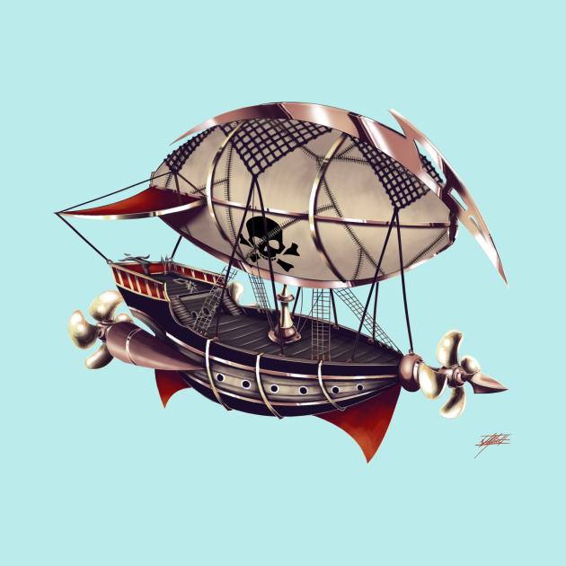 Pirate Airship