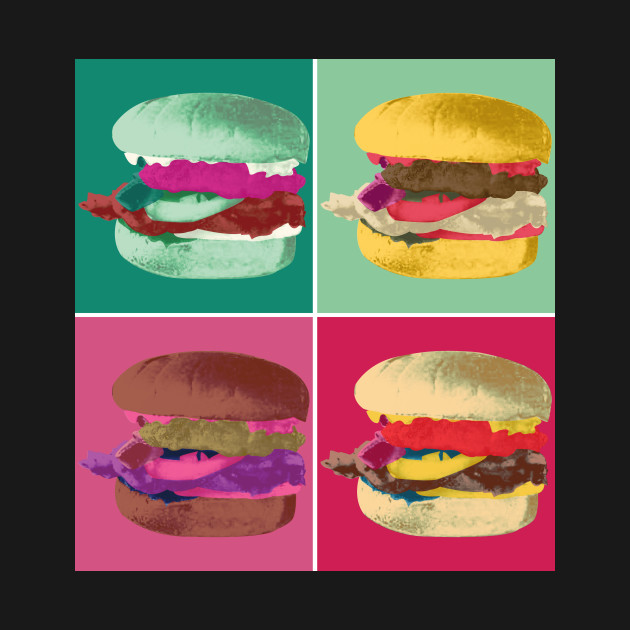 Pop Art Burger #1